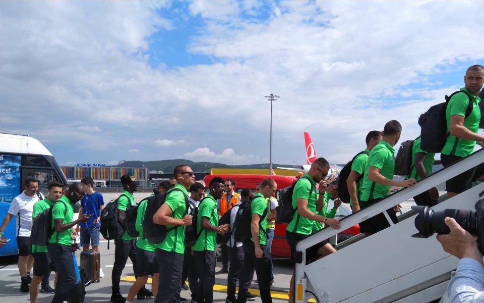 Лудогорец в отлично настроение на път за Унгария