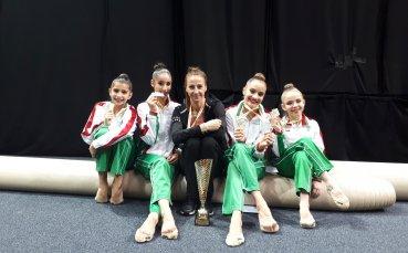 България с два финала на световното по художествена гимнастика