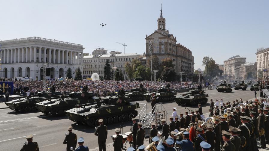 Миналогодишният парад в Киев за Деня на независимостта на Украйна