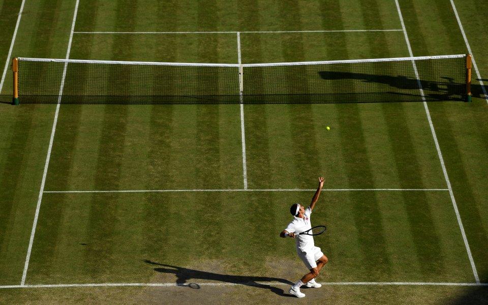 37-годишният швейцарец Роджър Федерер сякаш кара втора младост, а перфектната