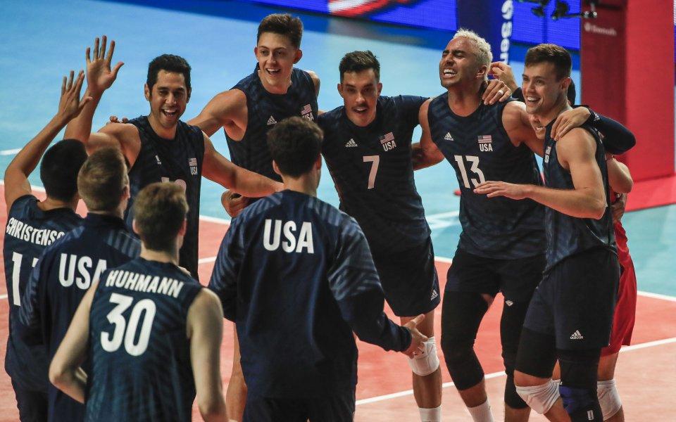 САЩ и Русия на финала в Лигата на нациите