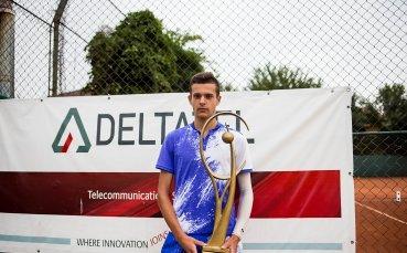 16-годишен роден тенис талант с първа ITF титла