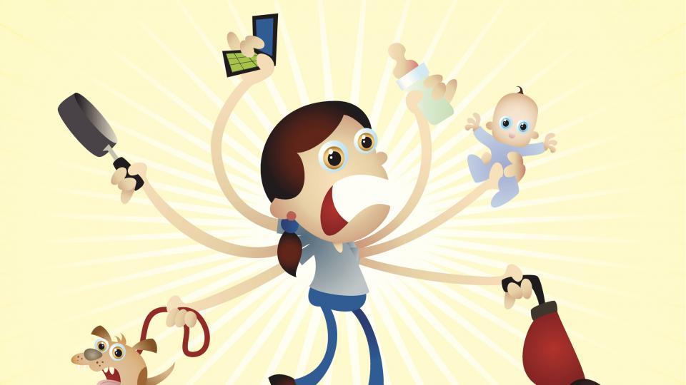 Свръхчовешките суперсили на новите майки