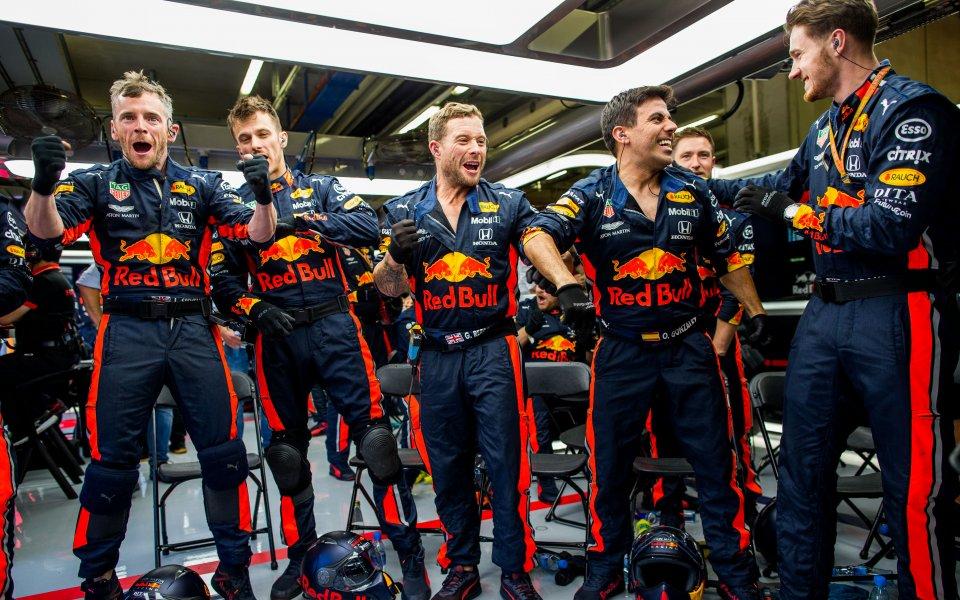 """Екипът на """"Ред Бул"""" постави нов рекорд във Формула 1"""