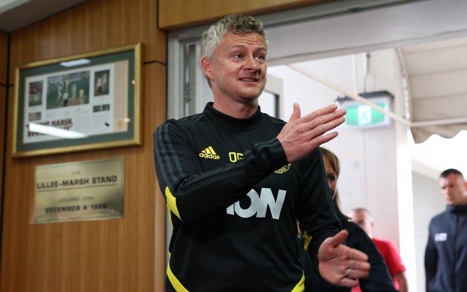 Мениджърът на Манчестър Юнайтед Оле Гунар Солскяер изрази мнение, че