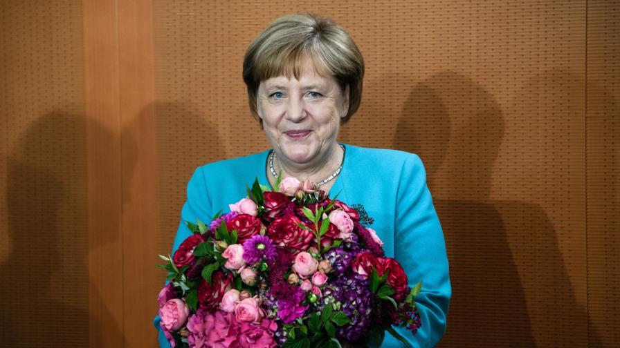 Честит рожден ден, канцлер Меркел. А как е здравето ви?