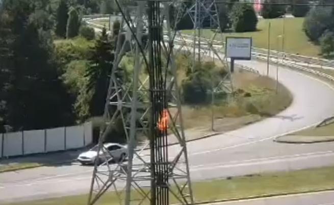Авария остави без ток три столични квартала