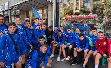 Юношите на ЦСКА газят здраво със син екип и под друго име