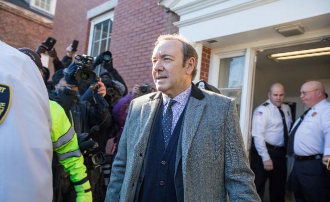 Оттеглиха обвиненията срещу Кевин Спейси
