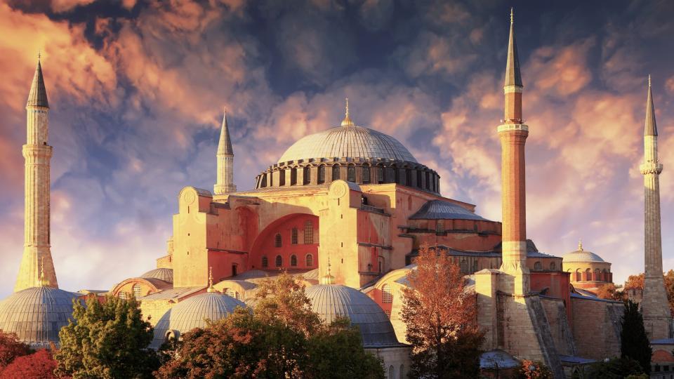 Света София Истанбул ислям