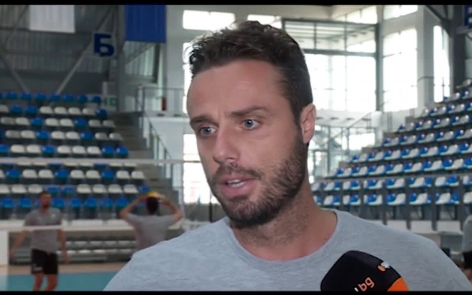 Опитният волейболист Теодор Салпаров коментира ситуацията около националния отбор на