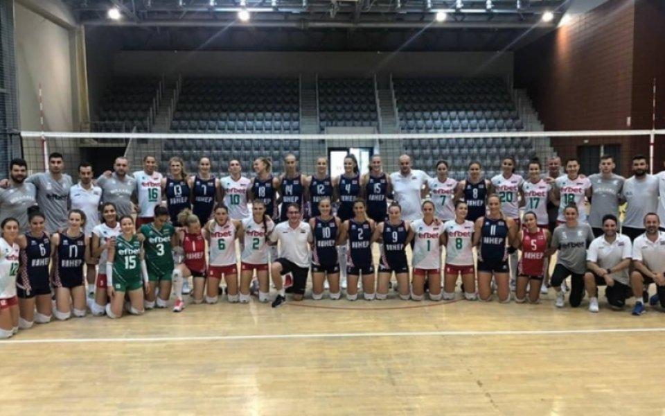 Волейболистките на България с победа над Хърватия в контрола