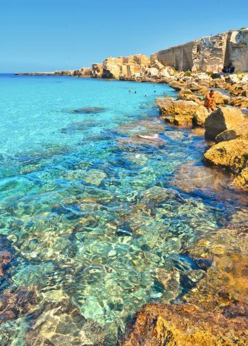 остров Фавиняна Сицилия