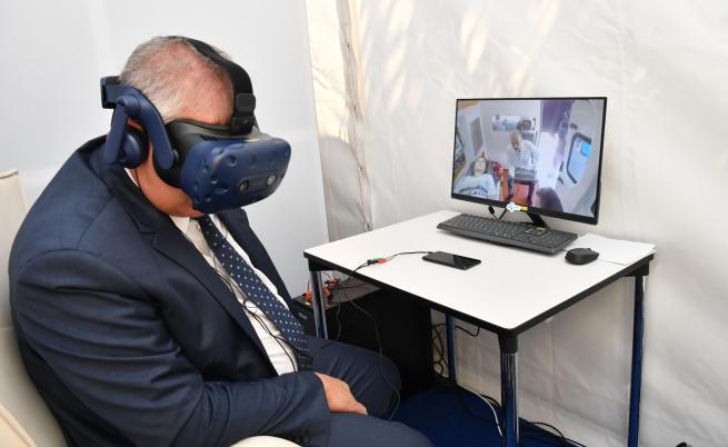 Telenor демонстрира лекарски преглед през 5G мрежа