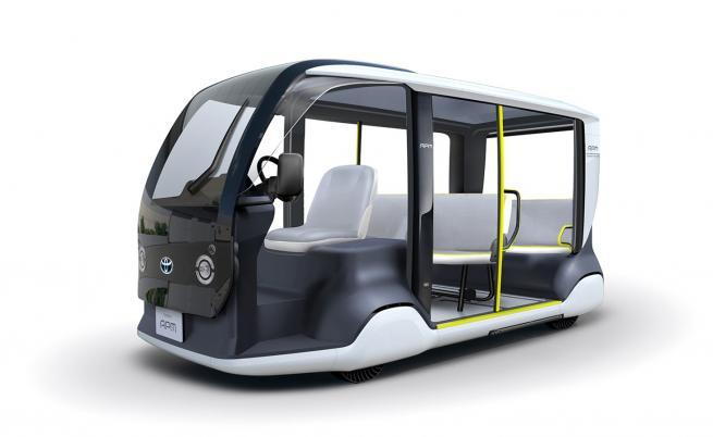 Електрически превоз за гостите на Олимпиадата в Токио