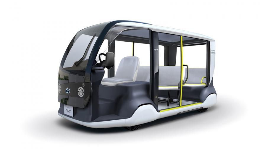 <p>Електрически превоз за гостите на Олимпиадата в Токио</p>