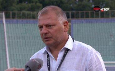 Петко Петков: Момчетата се раздадоха, имам много работа за вършене