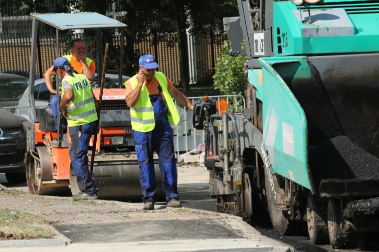 фандъкова булевард българия ремонт
