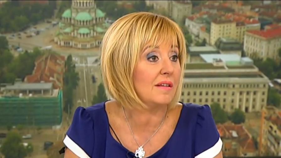 <p>Мая Манолова внася в НС закона за личния фалит</p>