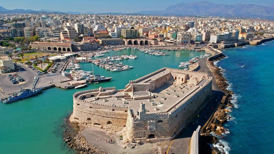 <p>Силно земетресение разтърси Крит</p>