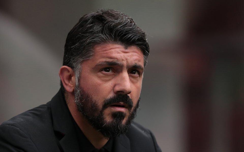 Легендата на Милан и бивш треньор на тима Дженаро Гатузо