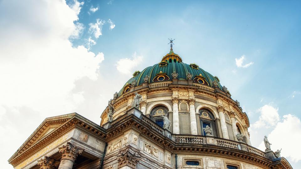 Неслучилият се шедьовър на Копенхаген: мраморната църква