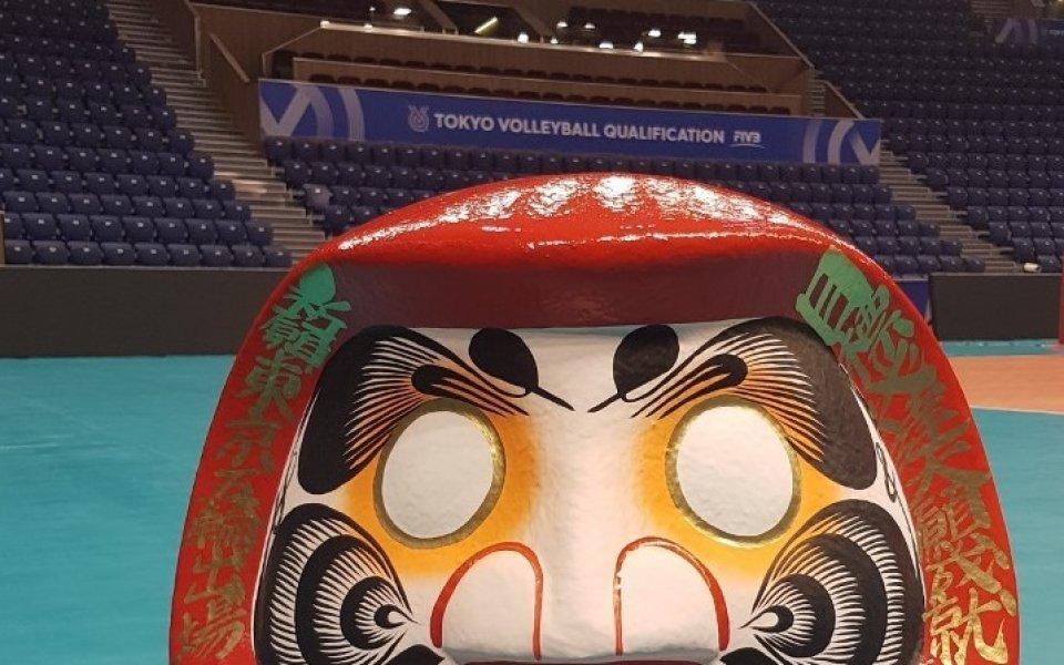 Традиционната японска кукла Дарума пристигна във Варна и очаква победителя