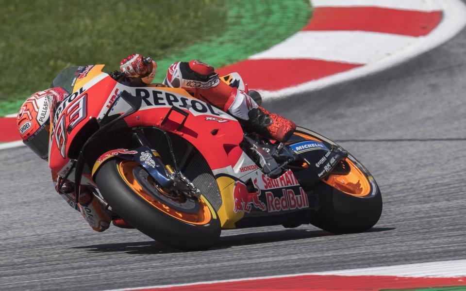 Маркес записа рекорден полпозишън в MotoGP