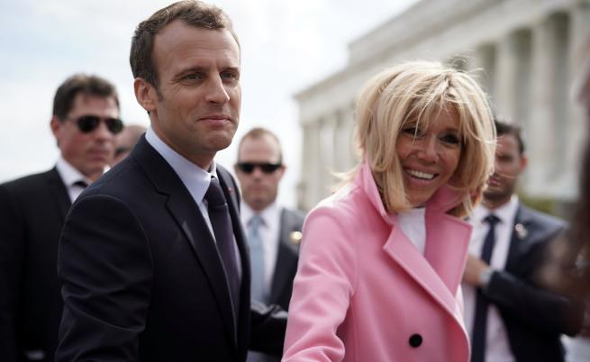Френски медии: Брижит Макрон се е подложила на тричасова козметична операция