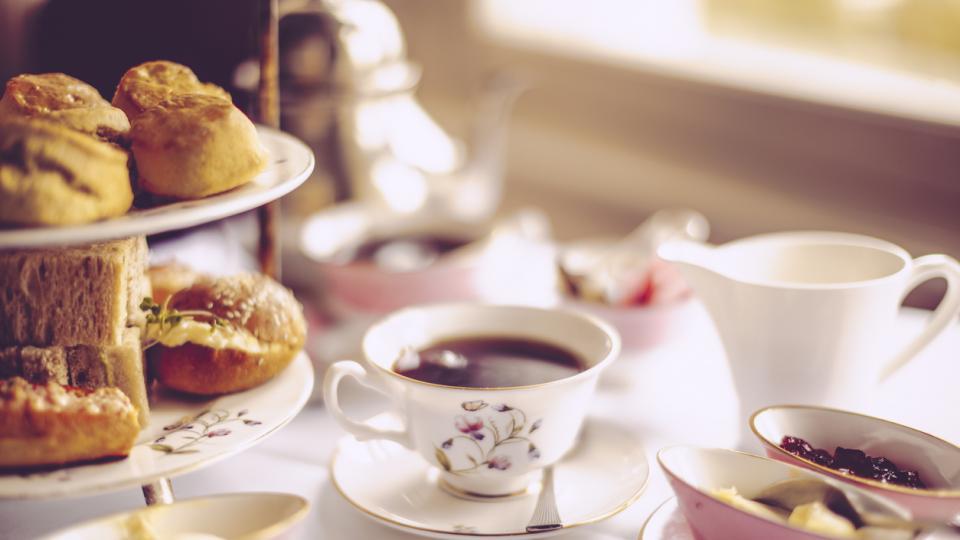 следобеден чай храна