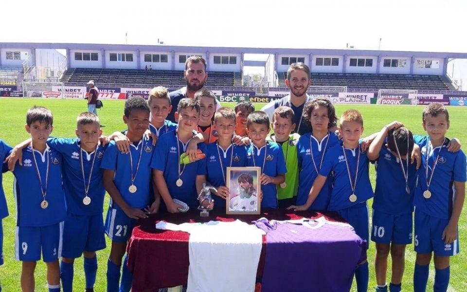 Младите футболисти на Левски спечелиха за трети пореден път турнира