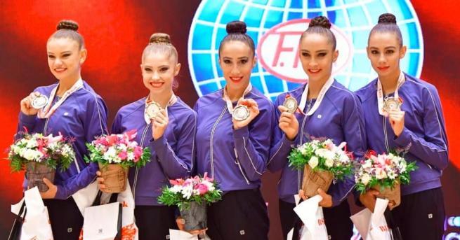 България Нов успех за българските гимнастички Ансамбълът ни спечели златен