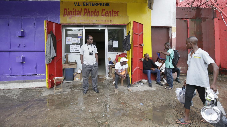 Практиката на уличната фотография в Либерия започва през 80-те години.