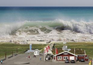Как възниква цунами