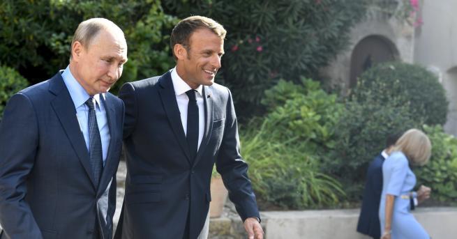 """Свят Путин от Франция: В Москва няма да има """"жълти"""
