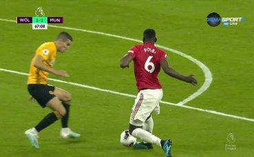 Погба изпроси и профука важна за Юнайтед дузпа