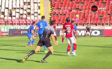 Голът на Тони Уот (ЦСКА) за 1:0 срещу Арда