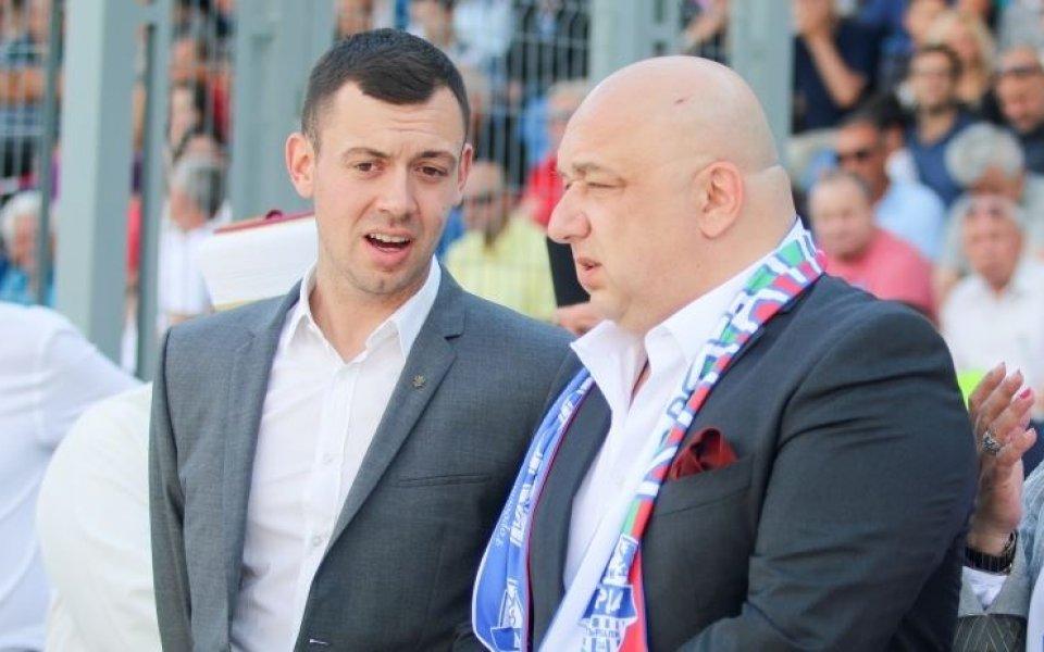 Министър Кралев се среща с ръководството на Арда