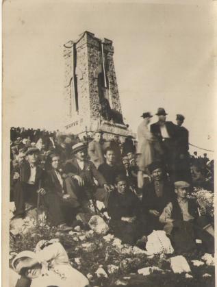 Откриване на паметника на 26 август 1934г.