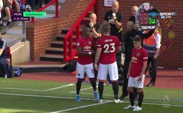 Едно зло никога не идва само: Юнайтед загуби и Шоу