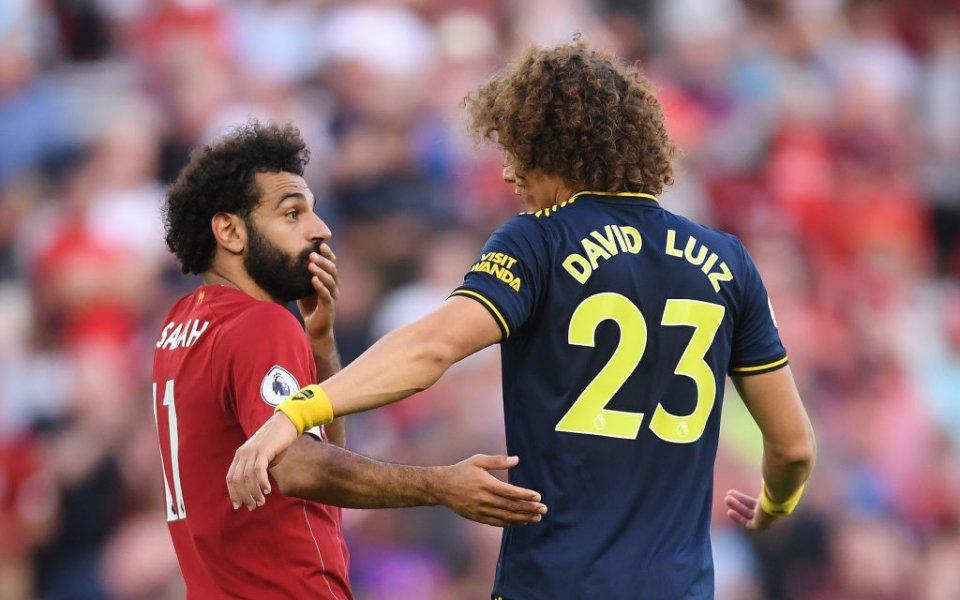 Защитникът на Арсенал Давид Луис коментира нарушението, което извърши за