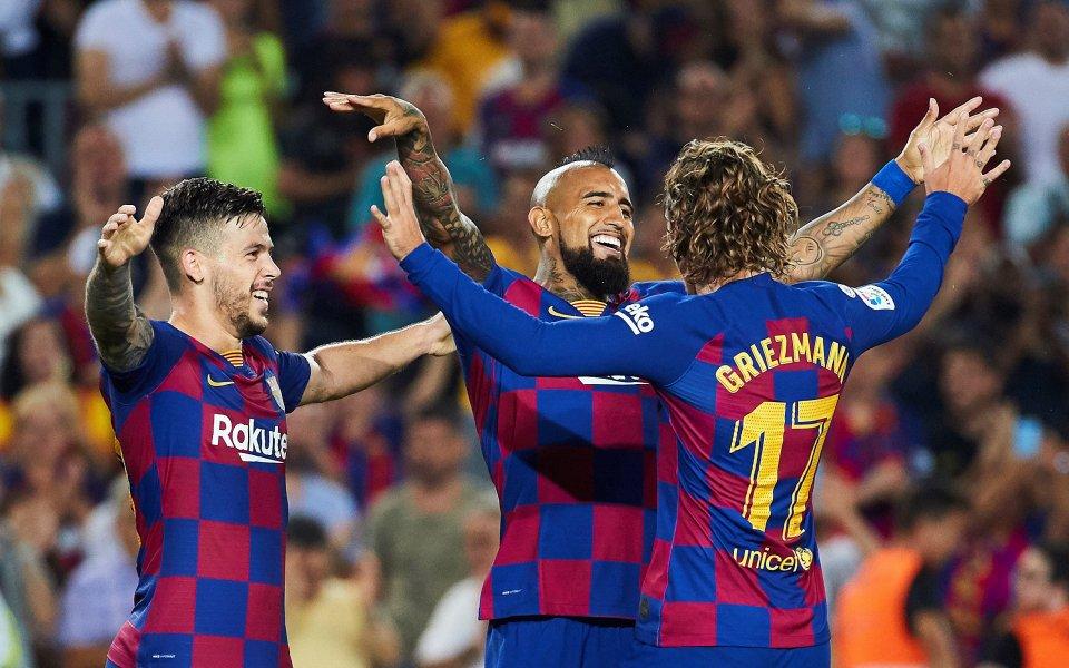 Отборът на Барселона победи Бетис с 5:2 в среща от