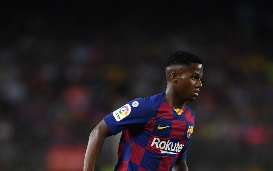 Новата звезда на Барселона Ансу Фати може да е само
