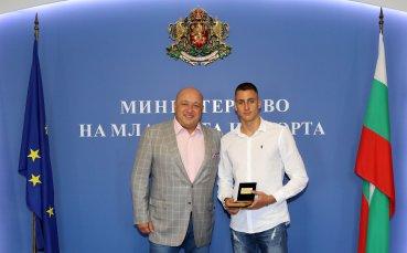 Йосиф Миладинов подобри националния рекорд на 100 м съчетано