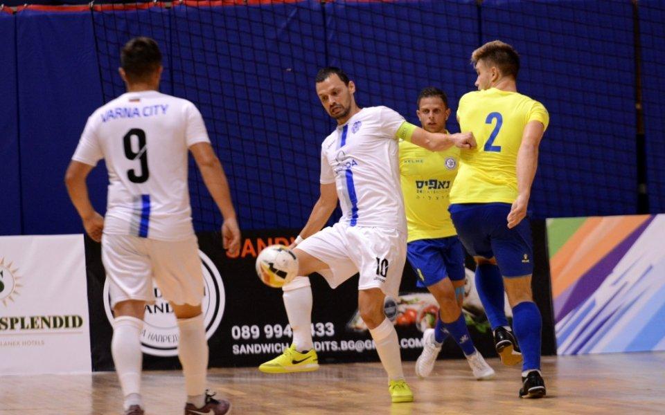 Шампионът на България Варна сити допусна загуба с 2:3 от