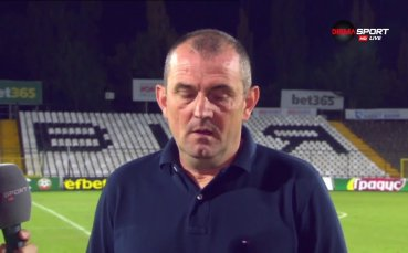 Загорчич: Заслужавахме трите точки
