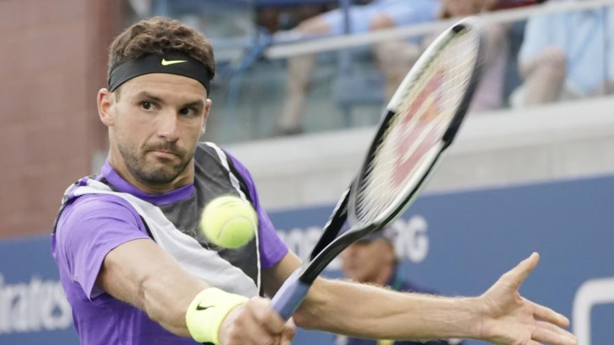 Григор Димитров се завръща! Пак е на 1/8-финал на US Open