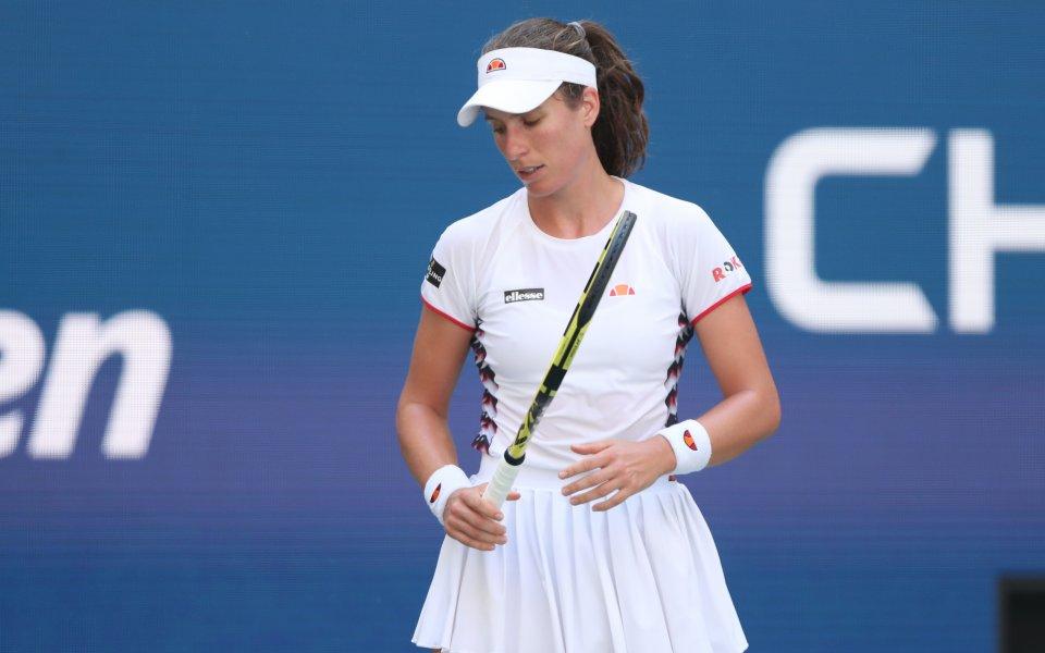 Най-силната британска тенисистка Йохана Конта обяви, че няма да играе