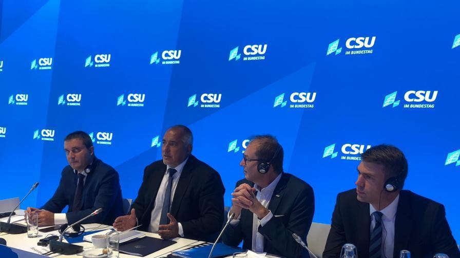 Борисов: Членството в Шенген не е приоритет за България