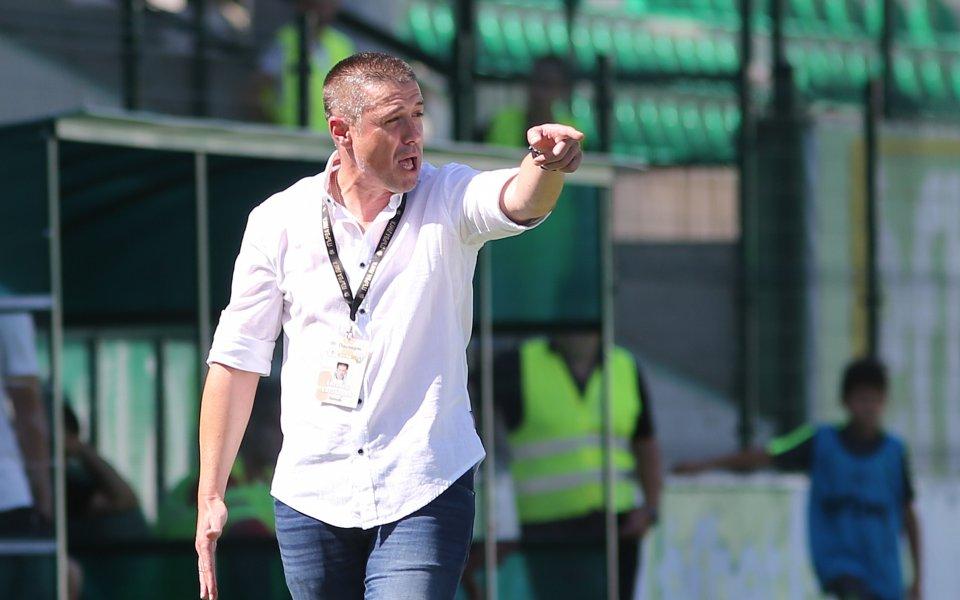 Енгибаров взе резерви за мача с Черноморец Балчик за Купата
